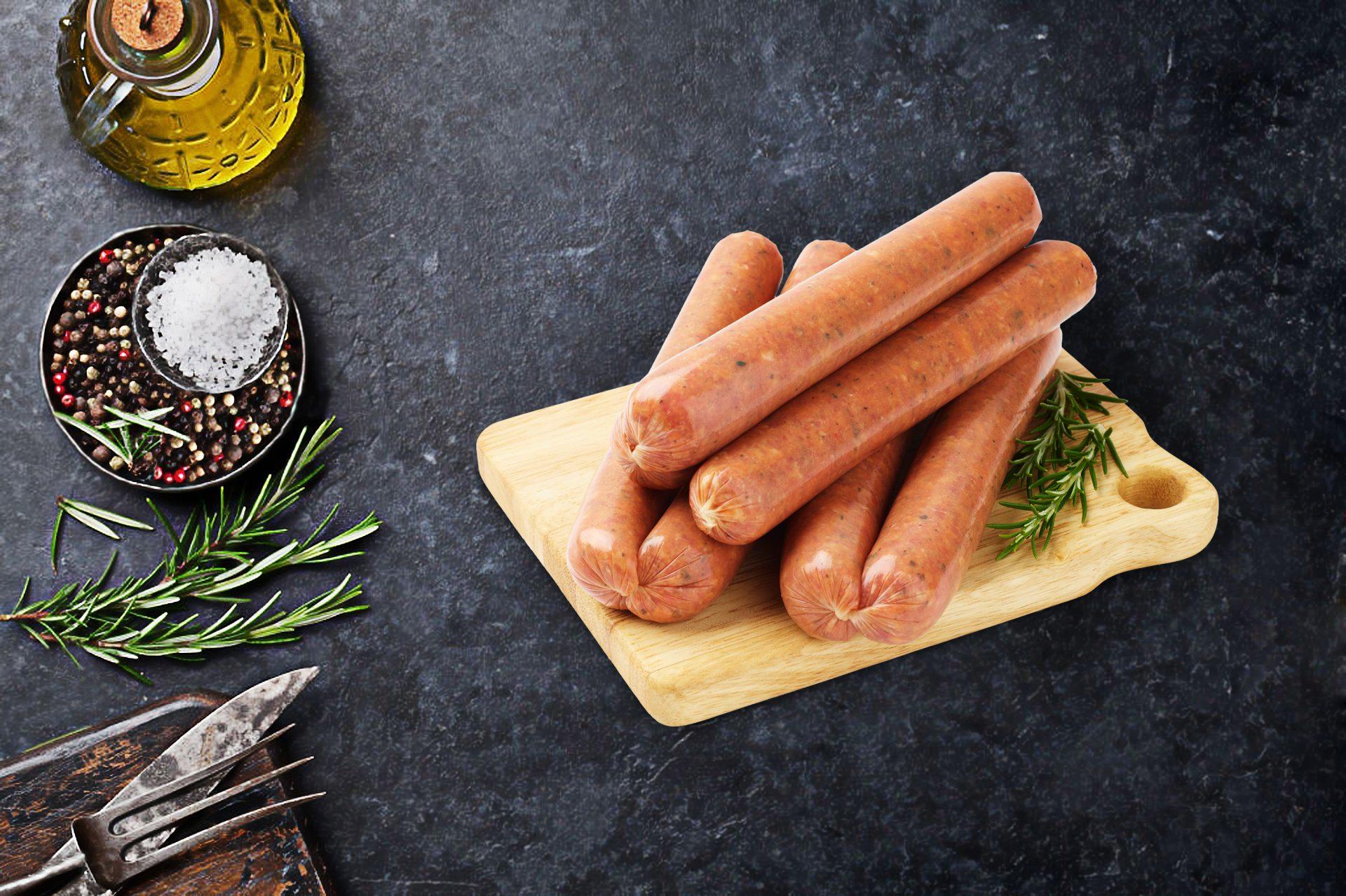 Lamb Mint & Rosemary Sausages