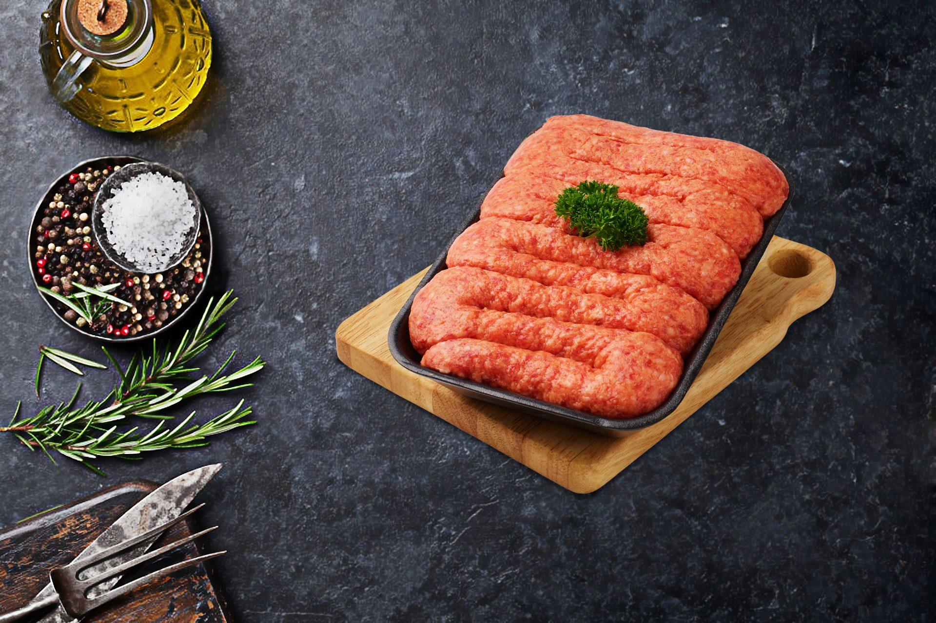 BBQ Sausage Meat
