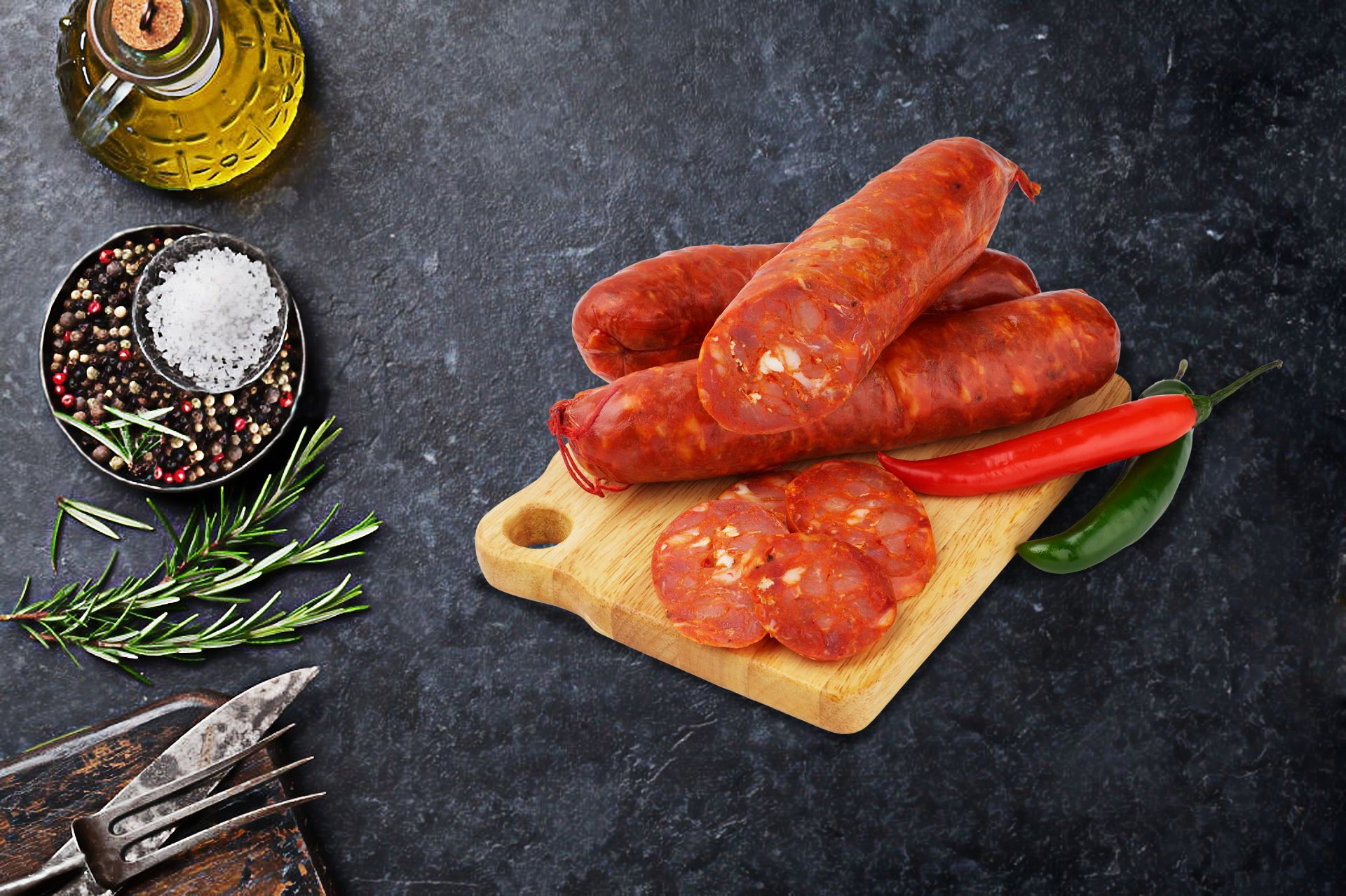 homestyle cacciatore sausages
