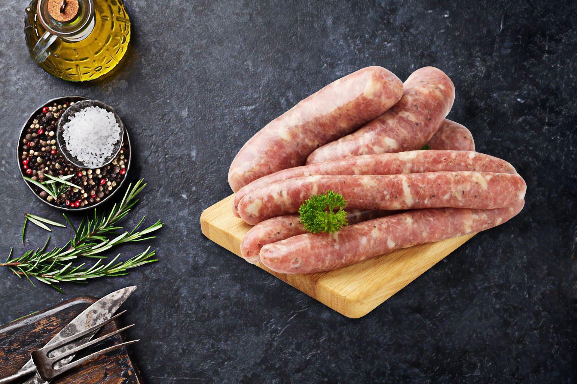 Thick Mild Italian Sausages