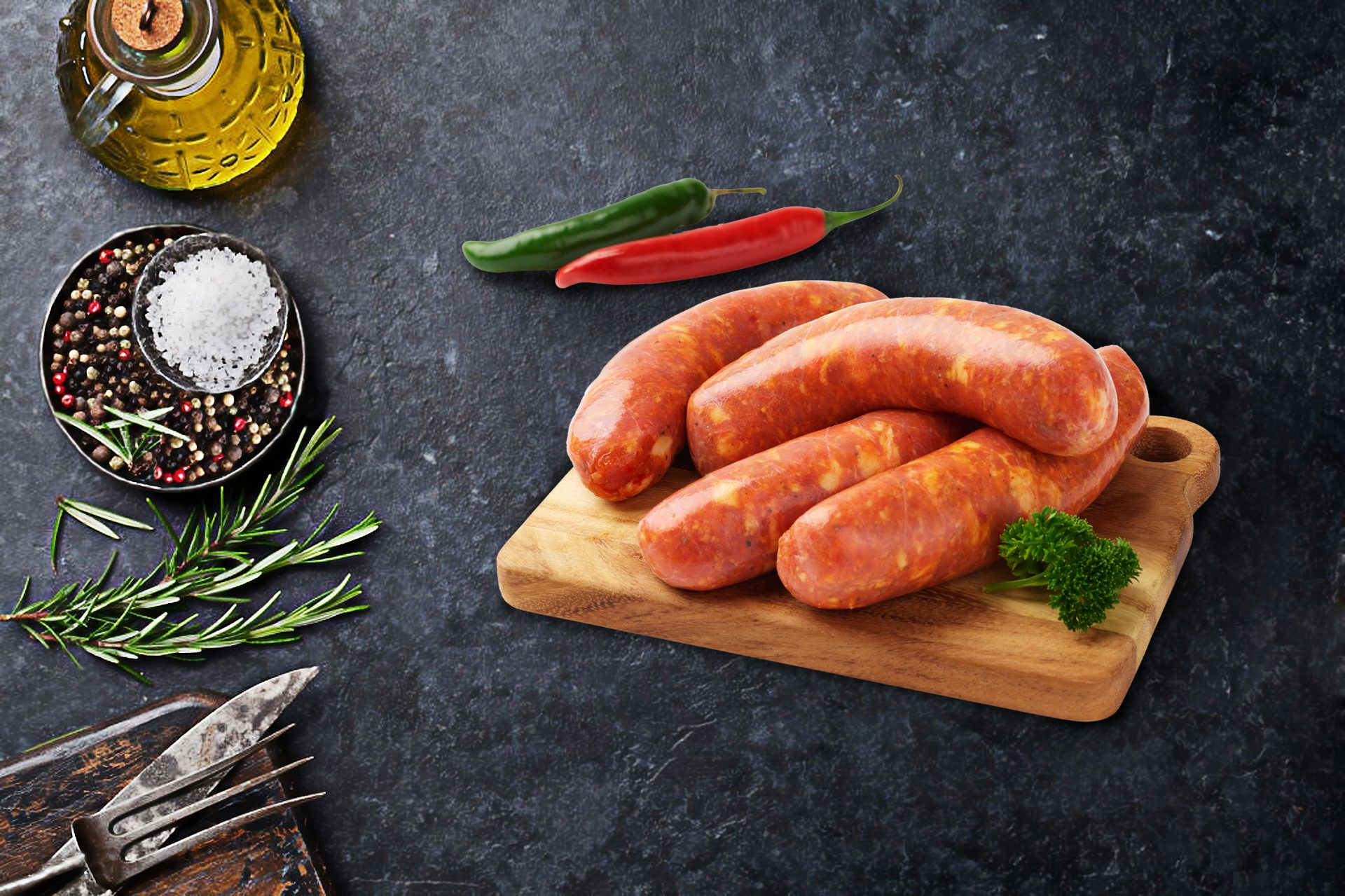Thick Hot Italian Sausages