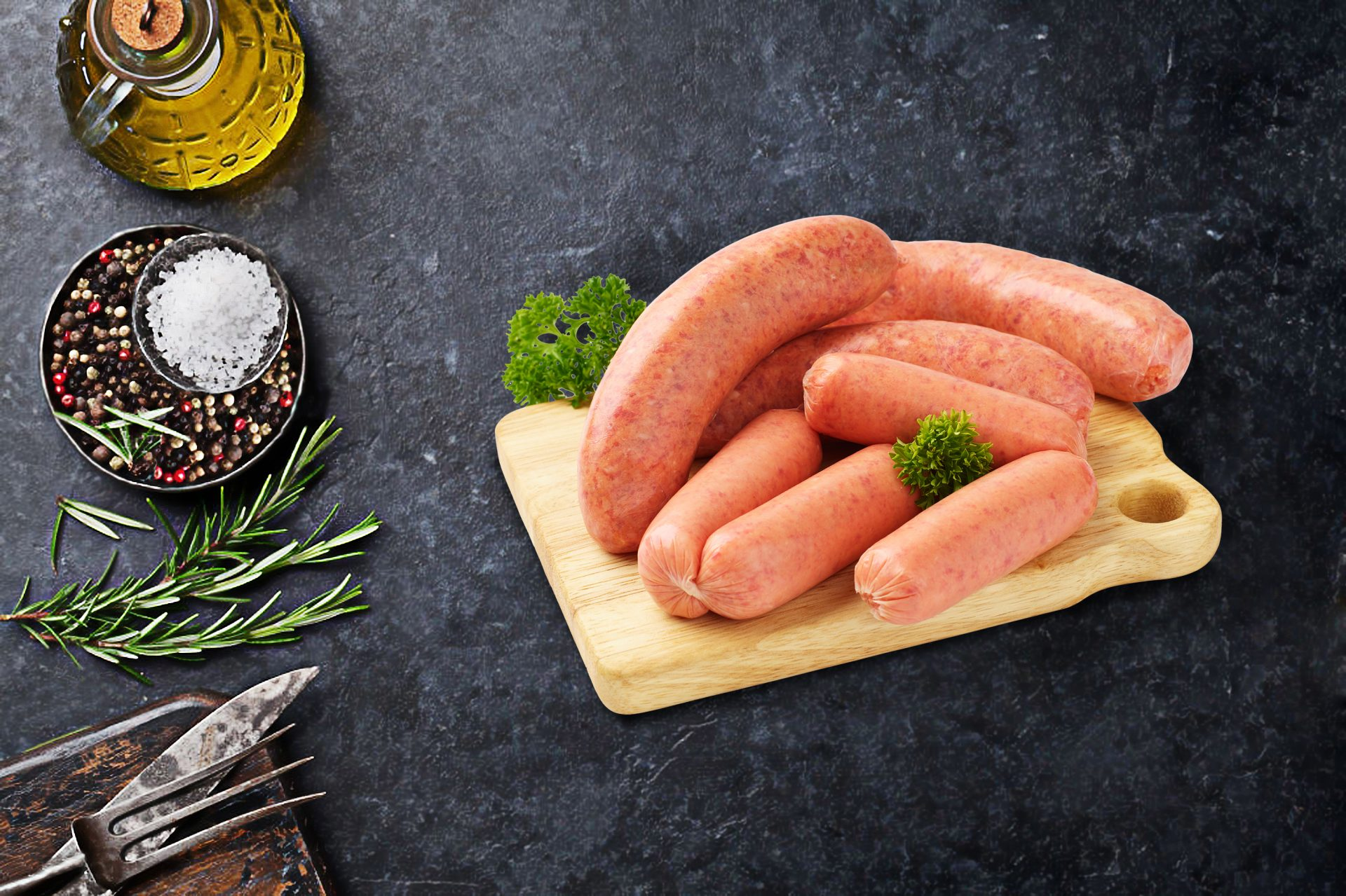 Beef Breakfast & Chipolata Sausages